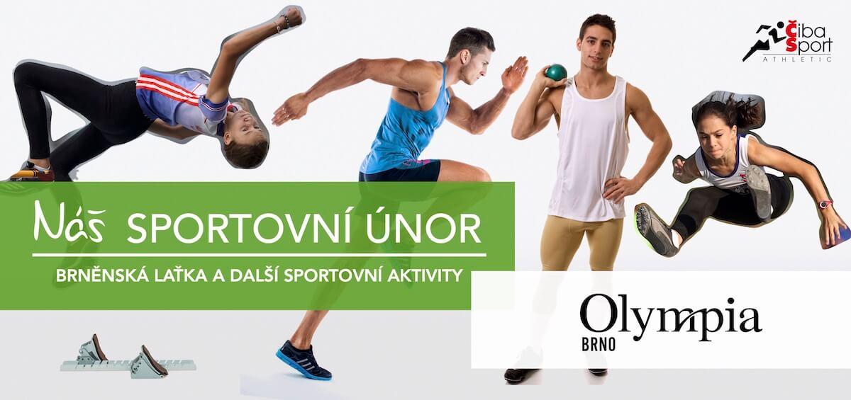 Poster Brněnská laťka OLYMPIA 2020