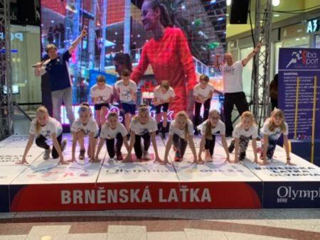 Úterý v Olympii se prezentovali naši mladí sportovci